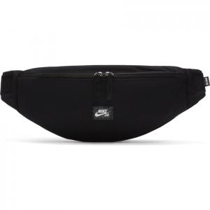 Ledvinka Nike SB HERITAGE WAISTPACK black/black/white
