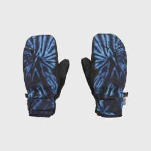 Rukavice Volcom Nyle Mitt Blue Tie-Dye