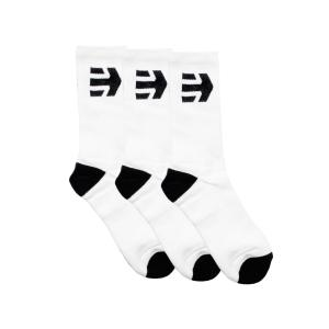 Ponožky Etnies Direct 2 Socks (3 Pack) WHITE