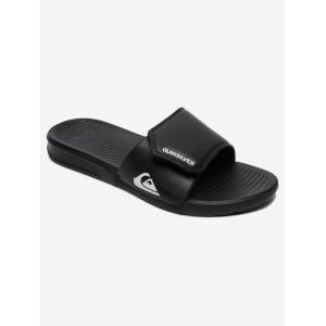 Pantofle Quiksilver BRIGHT COAST ADJUST BLACK/WHITE/BLACK