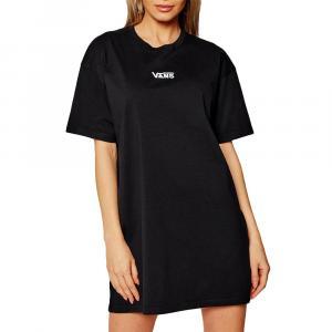 Šaty Vans CENTER VEE TEE DRESS Black