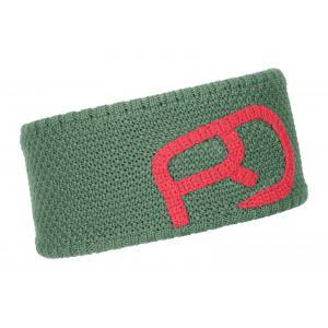 Čelenka Ortovox W's Headband Rock 'N' Wool Green Isar