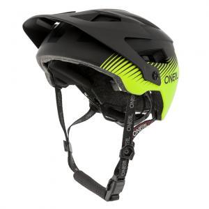 Cyklistická helma Oneal Defender GRILL Black/Neon Yellow