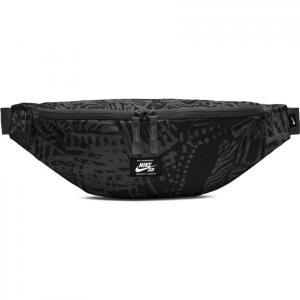 Ledvinka Nike SB HERITAGE HIP PACK - AOP  black/black/white