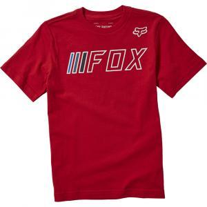 Tričko Fox Youth Brake Check Ss Tee Chilli