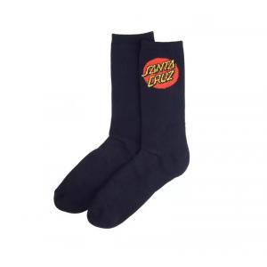 Ponožky Santa Cruz Dot Sock Black