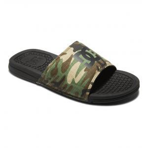 Pantofle DC BOLSA BLACK/CAMO