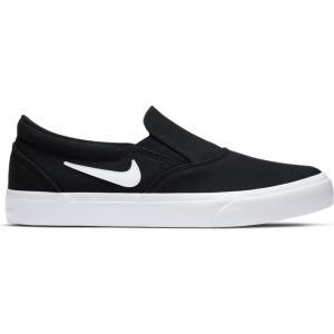 Boty Nike SB CHARGE CNVS SLIP black/white-black