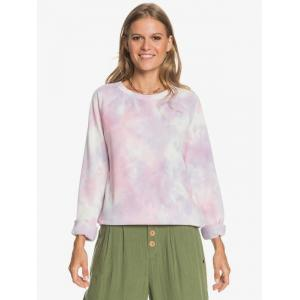Mikina Roxy DIVE DEEP CREW ORCHID PETAL NO FLOWERS FLY T
