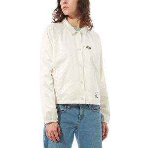 Bunda Vans HEART LIZZIE COACHES JACKET antique white