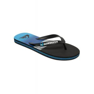 Žabky Quiksilver MOLOKAI HOLD DOWN BLACK/BLUE/BLACK