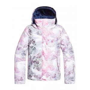 Zimní bunda Roxy JETTY GIRL JK BRIGHT WHITE MYSTERIOUS VIEW