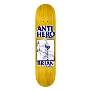 Skate deska Antihero LANCE ROUND 2 8.18 YEL/BLU
