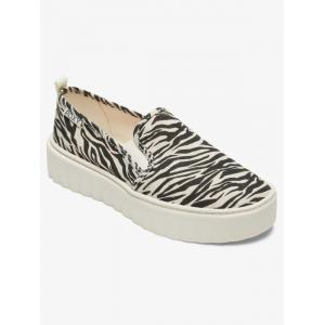 Boty Roxy SHEILAHH SLIP ON BLACK/TAN