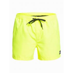 Koupací šortky Quiksilver EVERYDAY VOLLEY 15 SAFETY YELLOW