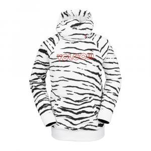 Mikina Volcom Hydro Riding Hoodie White Tiger
