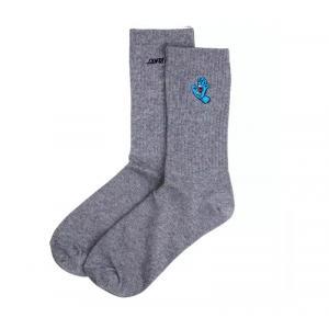 Ponožky Santa Cruz Screaming Mini Hand Sock  Athletic Heather