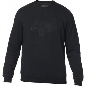Mikina Fox Refract Dwr Crew Fleece Black