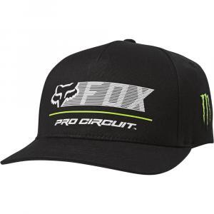 Kšiltovka Fox Pro Circuit Flexfit Hat Black