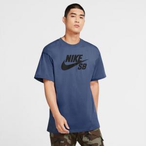 Tričko Nike SB TEE LOGO mystic navy/black