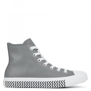 Boty Converse CHUCK TAYLOR ALL STAR Vltg Leather Hi Mason/Black/White