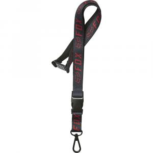 Klíčenka Fox Apex Lanyard Black/Red