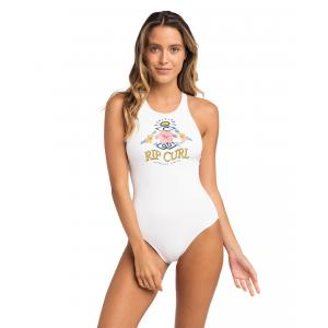 Plavky Rip Curl LOCAL'S ONLY ONE PIECE  White