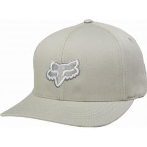Kšiltovka Fox Legacy Flexfit Hat Steel Grey