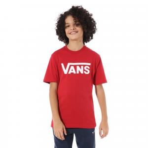 Tričko Vans CLASSIC BOYS chili pepper/white
