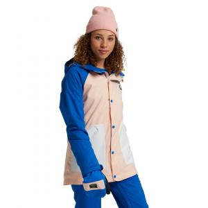 Zimní bunda Burton EASTFALL JACKET Lapis Blue/Peach Melba/Stout White
