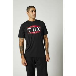 Tričko Fox Emblem Ss Tech Tee Black