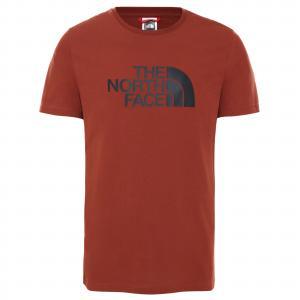 Tričko The North Face S/S EASY TEE - EU BRANDY BROWN