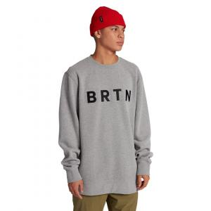 Mikina Burton BRTN CREW GRAY HEATHER