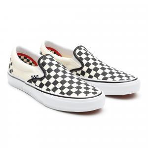 Boty Vans Skate Slip-On Checkerboard black/off