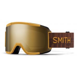 Lyžařské brýle Smith SQUAD AMBER TEXTILE/CHROMAPOP SUN BLACK GOLD MIRROR