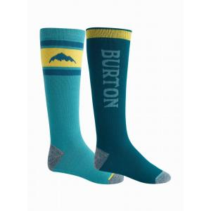 Ponožky Burton WEEKEND MDWT 2PK DEEP TEAL
