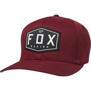 Kšiltovka Fox Crest Flexfit Hat Cranberry