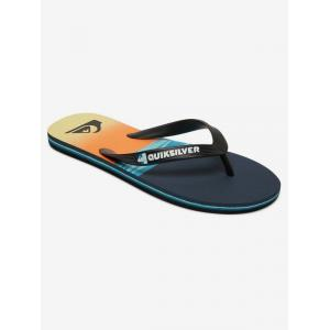 Žabky Quiksilver MOLOKAI HOLD DOWN BLACK/BLUE/BLUE