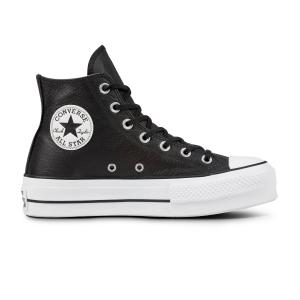 Boty Converse CHUCK TAYLOR ALL STAR LIFT CLEAN BLACK/BLACK/WHITE