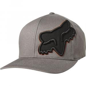 Kšiltovka Fox Episcope Flexfit Hat Grey/Oragne