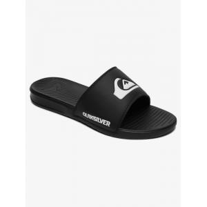 Pantofle Quiksilver BRIGHT COAST SLIDE BLACK/WHITE/BLACK