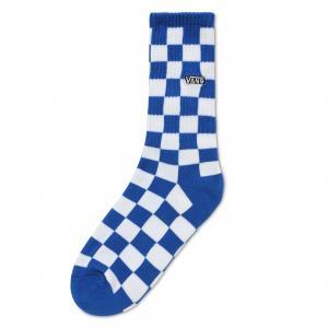 Ponožky Vans CHECKERBOARD CREW BOYS VICTORIA BLUE