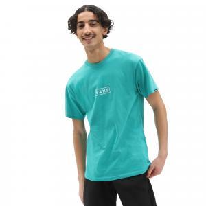 Tričko Vans CLASSIC EASY BOX PORCELAIN GREEN