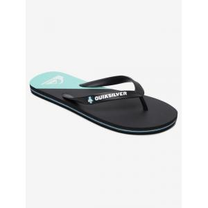 Žabky Quiksilver MOLOKAI NEW WAVE BLACK/BLUE/BLACK