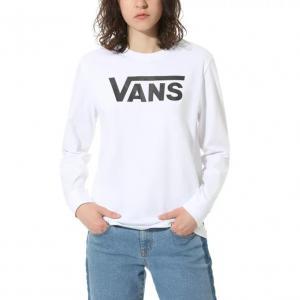 Tričko Vans FLYING V CLASSIC LS BF White