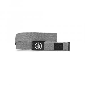 Pásek Volcom Circle Web Belt Heather Grey
