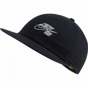 Kšiltovka Nike SB H86 CAP FLATBILL GFX black/white