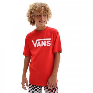 Tričko Vans CLASSIC BOYS high risk red/white