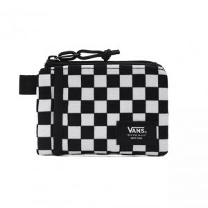 Peněženka Vans POUCH WALLET Black/White Check