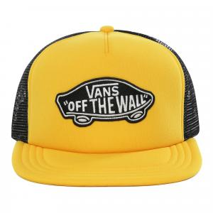 Kšiltovka Vans CLASSIC PATCH TRUCKER Lemon Chrome